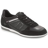 Topánky Muži Nízke tenisky Geox U RENAN Čierna