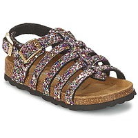 Topánky Dievčatá Sandále Betula Original Betula Fussbett LEONA Ružová / Viacfarebná