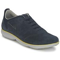 Topánky Muži Nízke tenisky Geox NEBULA B Námornícka modrá