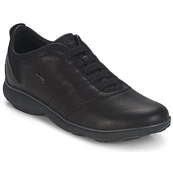 Topánky Muži Nízke tenisky Geox NEBULA B Čierna