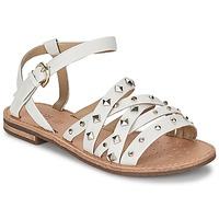 Topánky Ženy Sandále Geox JOLANDA E Biela