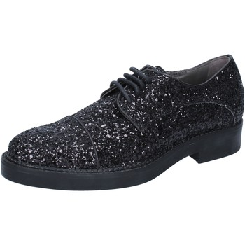 Topánky Ženy Derbie & Richelieu Janet&Janet BY753 Čierna