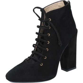 Topánky Ženy Čižmičky Gianni Marra Členkové Topánky BY757 Čierna