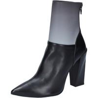 Topánky Ženy Čižmičky Gianni Marra Členkové Topánky BY766 Čierna