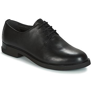 Topánky Ženy Derbie Camper IMAN Čierna