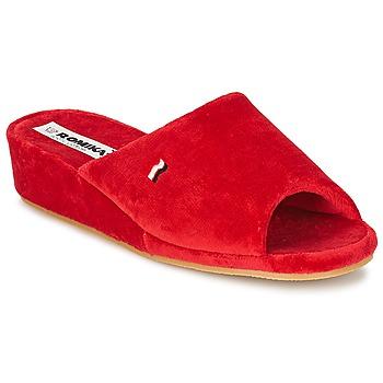 Topánky Ženy Papuče Romika PARIS červená