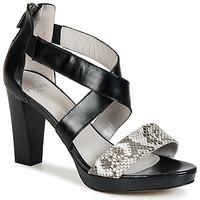 Topánky Ženy Sandále Perlato IREGUA Čierna / Hadí vzor