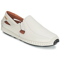 Topánky Muži Mokasíny Pikolinos JEREZ 09Z Biela