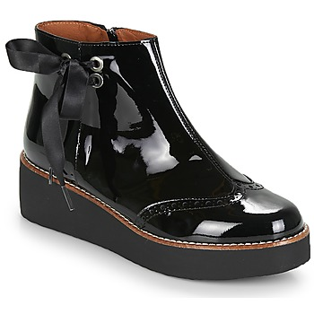Topánky Ženy Polokozačky Fericelli JANDICI Čierna