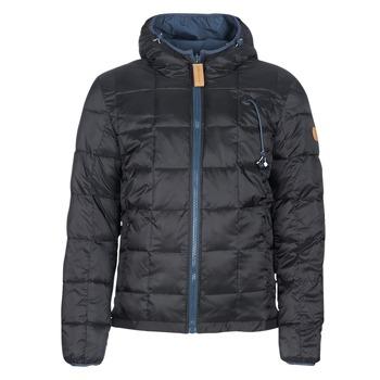 Oblečenie Muži Vyteplené bundy 80DB Original CHILL18 Čierna / Námornícka modrá