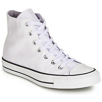 Topánky Ženy Členkové tenisky Converse CHUCK TAYLOR ALL STAR HI Biela / Biela