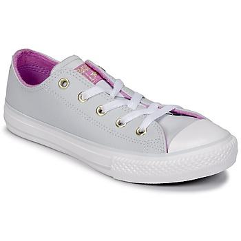 Topánky Dievčatá Členkové tenisky Converse CHUCK TAYLOR ALL STAR HI Pure / Šedá platinová / Fuksiová / Glow / Biela