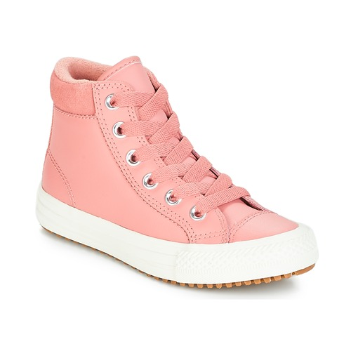 Topánky Dievčatá Členkové tenisky Converse CHUCK TAYLOR ALL STAR PC BOOT HI Červená hrdzavá / Ružová / Burnt / Karamelová / Červená hrdzavá