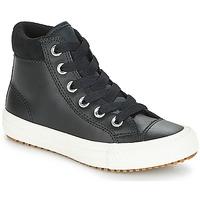 Topánky Deti Členkové tenisky Converse CHUCK TAYLOR ALL STAR PC BOOT HI Čierna / Biela
