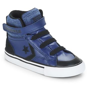 Topánky Chlapci Členkové tenisky Converse PRO BLAZE STRAP HI Modrá