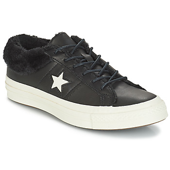 Topánky Ženy Nízke tenisky Converse ONE STAR LEATHER OX Čierna