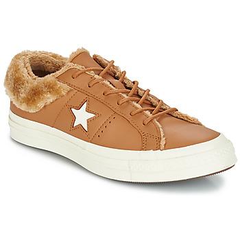 Topánky Ženy Nízke tenisky Converse ONE STAR LEATHER OX Ťavia hnedá