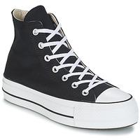 Topánky Ženy Členkové tenisky Converse CHUCK TAYLOR ALL STAR LIFT CANVAS HI Čierna
