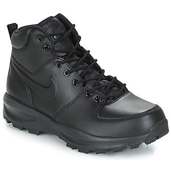 Topánky Muži Polokozačky Nike MANOA LEATHER BOOT Čierna