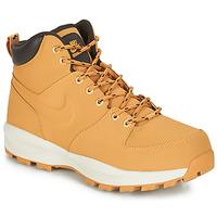 Topánky Muži Polokozačky Nike MANOA LEATHER BOOT Svetlá hnedá medová