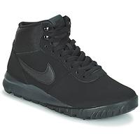 Topánky Muži Polokozačky Nike HOODLAND SUEDE Čierna