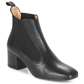Topánky Ženy Čižmičky Betty London JUSSIVA Čierna
