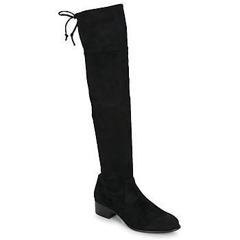 Topánky Ženy Cizmy Nad Kolenà Betty London JAZUMI Čierna
