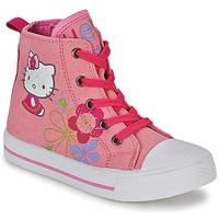 Topánky Dievčatá Členkové tenisky Hello Kitty LONS Ružová