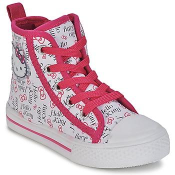 Topánky Dievčatá Členkové tenisky Hello Kitty LYNDA Biela