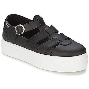 Topánky Ženy Sandále Victoria SANDALIA PIEL Čierna