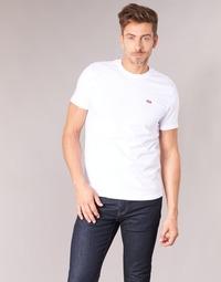 Oblečenie Muži Tričká s krátkym rukávom Levi's SS ORIGINAL HM TEE Biela