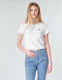 Oblečenie Ženy Tričká s krátkym rukávom Levi's PERFECT TEE Biela