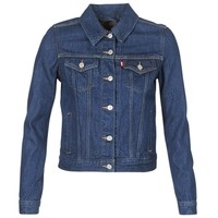 Oblečenie Ženy Džínsové bundy Levi's ORIGINAL TRUCKER Modrá / Raw