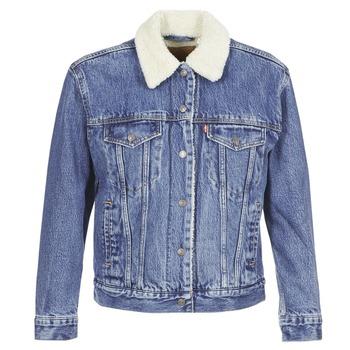 Oblečenie Ženy Džínsové bundy Levi's EX-BF SHERPA TRUCKER To / Love
