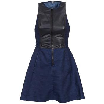 Oblečenie Ženy Krátke šaty G-Star Raw SUTZIL DRESS Námornícka modrá / čierna