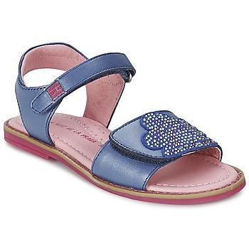 Topánky Dievčatá Sandále Agatha Ruiz de la Prada MISS PONZA Modrá