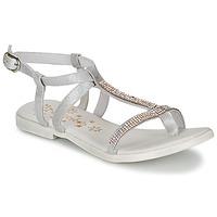 Topánky Dievčatá Sandále Acebo's MADALEN Strieborná