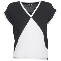 Oblečenie Ženy Tričká s krátkym rukávom Nikita NEWSON čierna / Biela