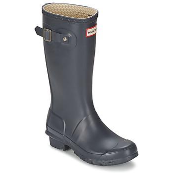 Topánky Deti Čižmy do dažďa Hunter ORIGINAL JUNIORS Námornícka modrá
