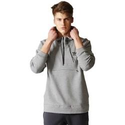 Oblečenie Muži Mikiny adidas Originals Originals Shadow Tones Half Zip Sivá