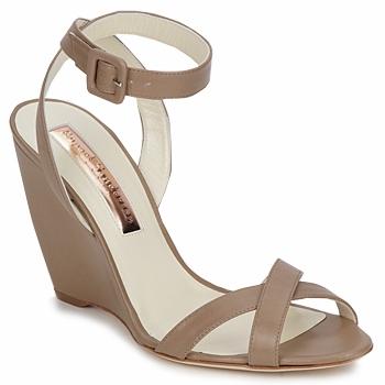 Topánky Ženy Sandále Rupert Sanderson ALIGHT Hnedá