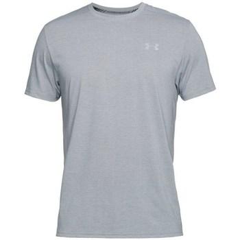 Oblečenie Muži Tričká s krátkym rukávom Under Armour Threadborne Streaker SS Sivá