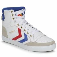 Topánky Členkové tenisky Hummel STADIL HIGH Biela / Modrá / červená