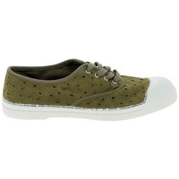 Topánky Ženy Tenisová obuv Bensimon Toile Lacet Kaki Zelená