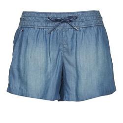 Oblečenie Ženy Šortky a bermudy Tommy Jeans TINA Modrá