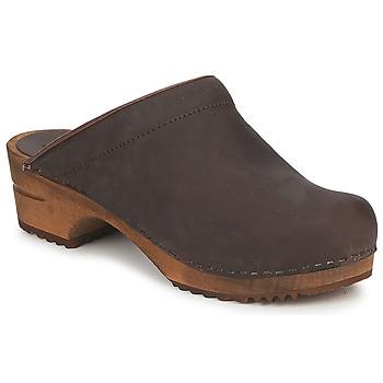 Topánky Ženy Nazuvky Sanita CHRISSY OPEN Hnedá