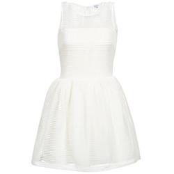 Oblečenie Ženy Krátke šaty Brigitte Bardot AGNES Biela