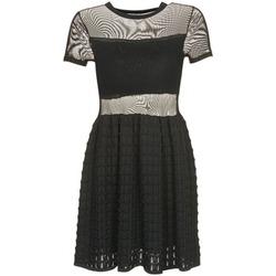 Oblečenie Ženy Krátke šaty Brigitte Bardot ALBERTINE Čierna