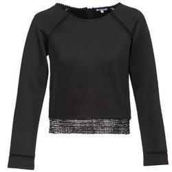 Oblečenie Ženy Mikiny Brigitte Bardot AMELIE Čierna