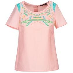 Oblečenie Ženy Blúzky Color Block ADRIANA Ružová